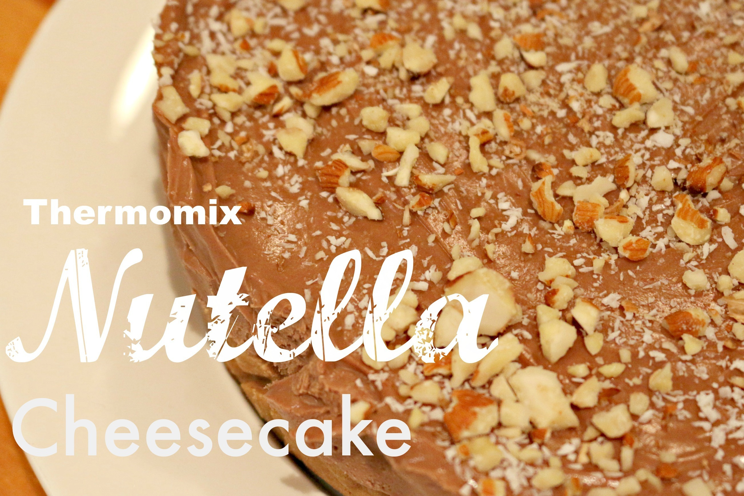 Thermomix nutella cheesecake