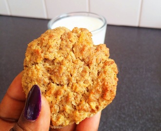 Easy peasy.... Healthy Weetabix cookies with some extra goodness