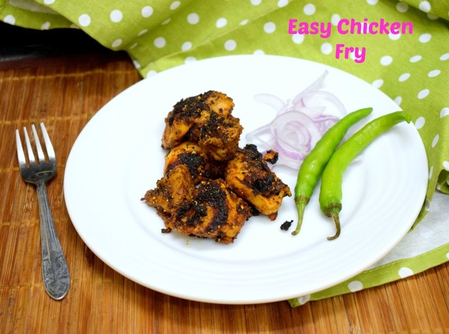 Easy Chicken Fry | How to Make Chicken Fry