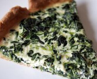 How to Make an Easy Spinach Quiche