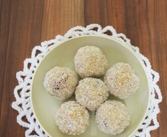 Coconut ladoo recipe with condensed milk | Coconut laddu recipe