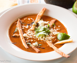The Soupmaker's Kitchen, Mexican Sopa de Tortilla