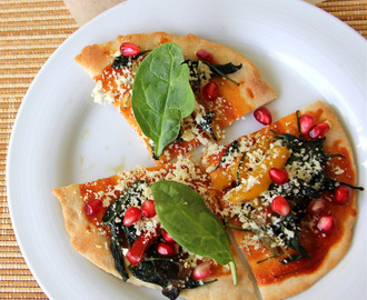 Thin crust pizza recipe - Roasted Veggetable thin crust pizza recipe