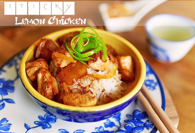 Sticky Lemon Marmalade Chicken