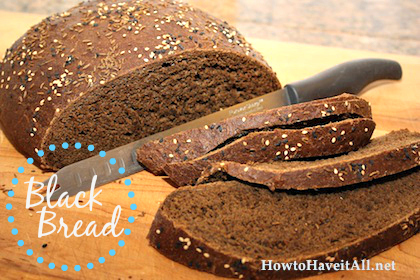 Black Bread Recipe