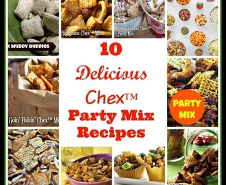 #Win a $50 GC to make Chex™ Party Mix #Recipes (US ends 4/17)