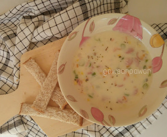 SOUP CHEESY CREAM (SUP KRIM KEJU)