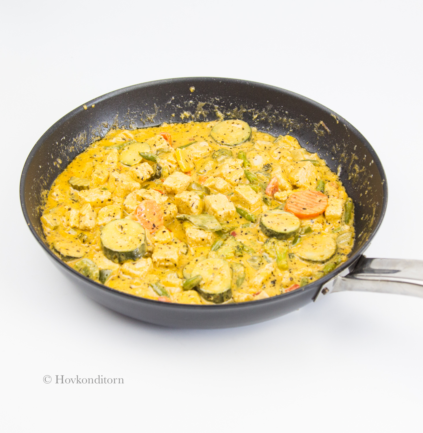 Creamy Quorn Vegetable Sauce