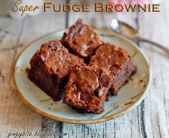 Super Fudge Brownie 布朗尼