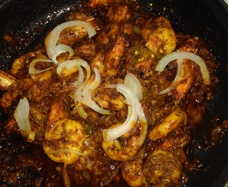 Prawns In Red Chilli Sauce