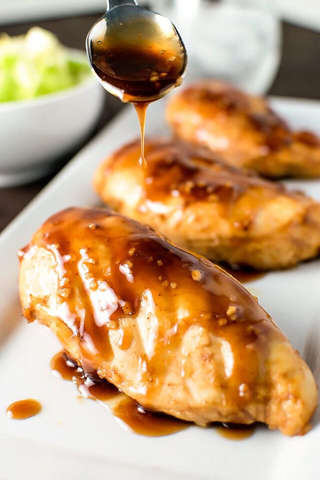 Grilled Honey Balsamic Chicken