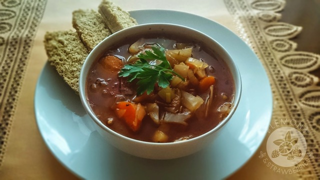 Cabbage soup - simple and tasty