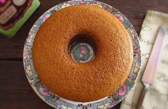 Orange and brown sugar cake
