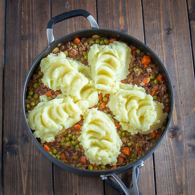 Easy Shepherd's Pie with Leftover Mashed Potatoes