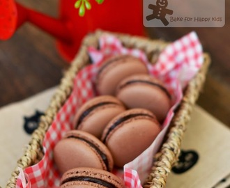 Chocolate French Macarons (Italian Meringue)