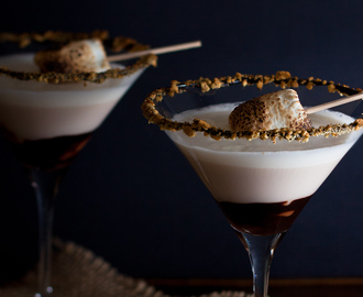 The Ultimate S'mores Martini