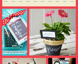 10 DIY Teacher Appreciation Gifts
