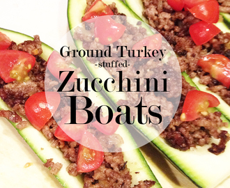 Zucchini Boats {clean eating recipe}