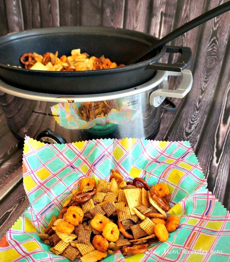 Comment on Slow Cooker Snack Mix for Basketball Season by Katie