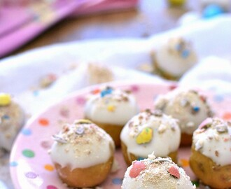 Easter Cookie Dough Buckeyes