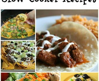25 Mexican Style Slow Cooker Recipes