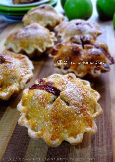 Mini Apple Pie (resep pie apel mini)