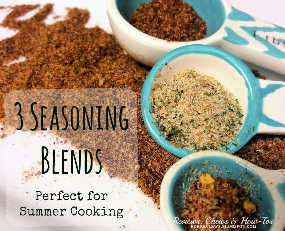 Kitchen DIY: Fajita, Cajun & Steak Seasoning Blends