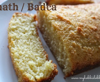 Baath / Badca - Traditional Goan Coconut Cake