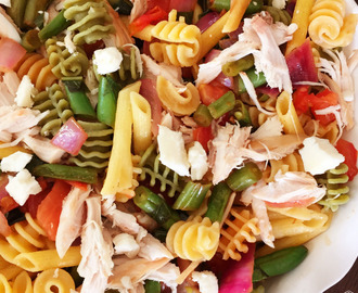 Chicken and Vegetable Bruschetta Pasta