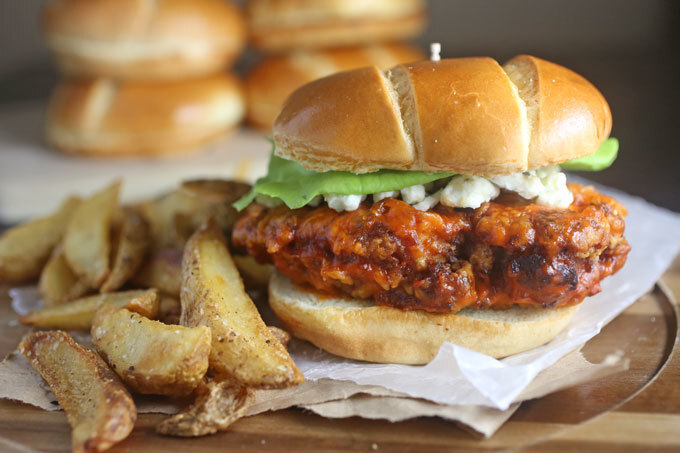 Crispy Buffalo Chicken Sandwich