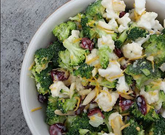 Broccoli Cauli Salad