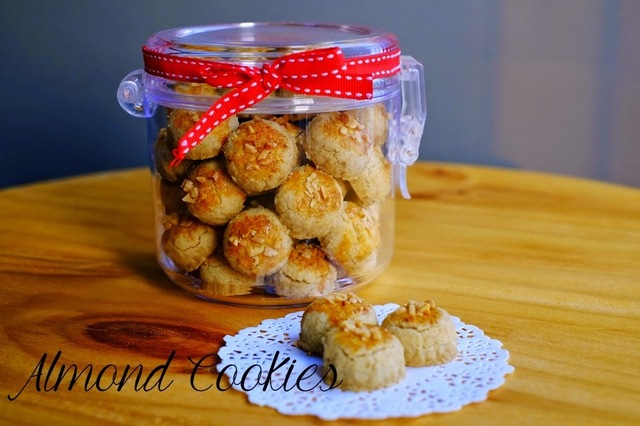 Almond Cookies 2015
