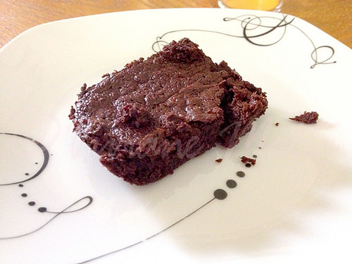 Coconut Oil Melt in your Mouth Brownies