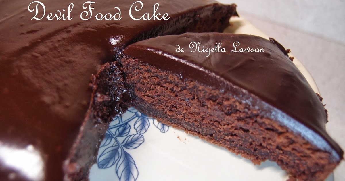 Devil Food Cake de Nigella Lawson