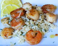 Lemon Butter Shrimp and Scallops