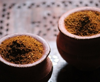 Homemade Pav Bhaji Masala Powder Recipe / How to Make Pav Bhaji Masala at Home