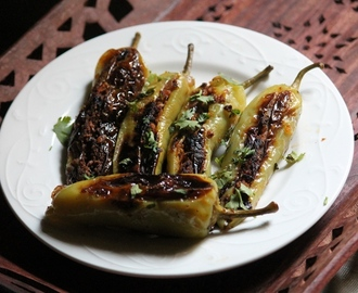 Besan Stuffed Peppers Recipe