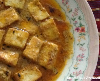 Shahi Paneer - No Onion No Garlic Recipe
