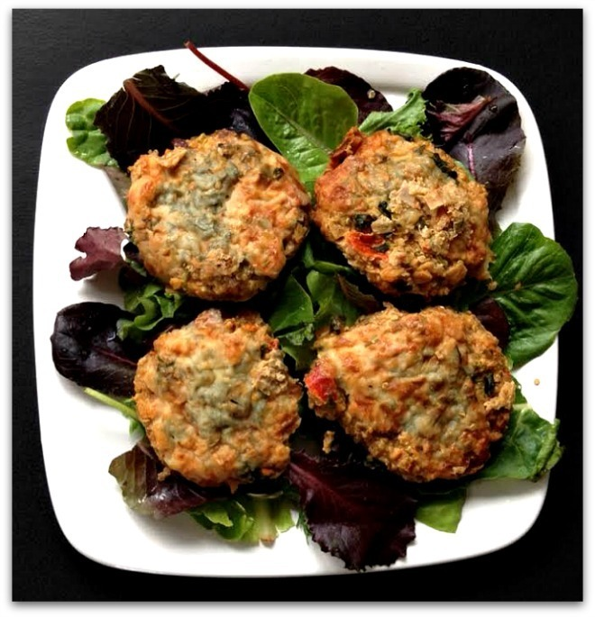 Meatless Monday: Baked Quinoa Kale and Veggie Patties