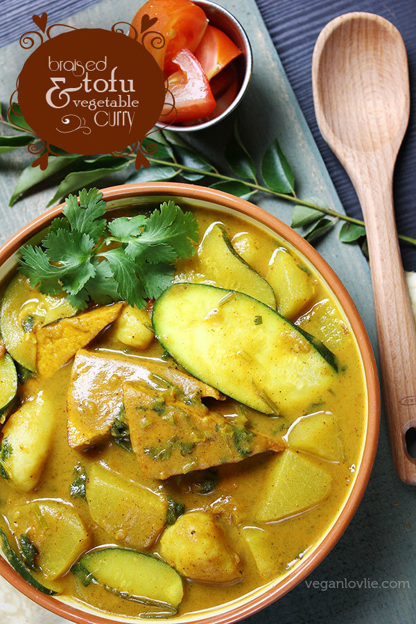Braised Tofu and Vegetable Curry | Vegan/Vegetarian + Gluten-free