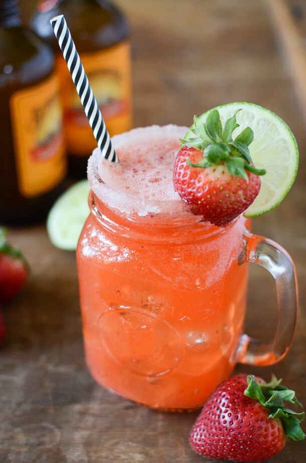 Strawberry Mocktail Mules