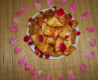 Misti Nimki ( Sweet  Fried  Crackers )