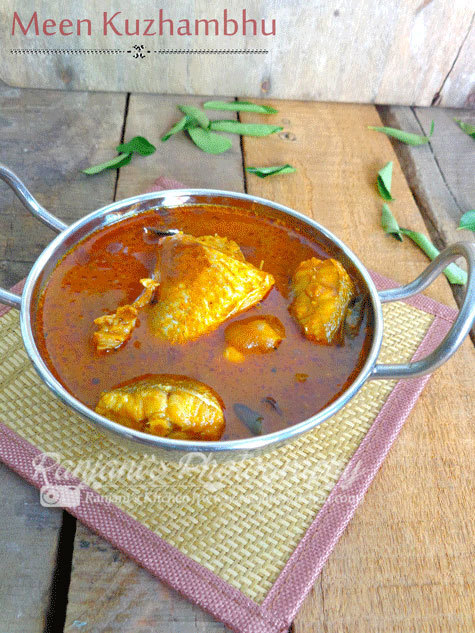 Fish Curry | How to prepare fish gravy |Meen Kuzhambhu