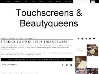 Touchscreens & Beautyqueens