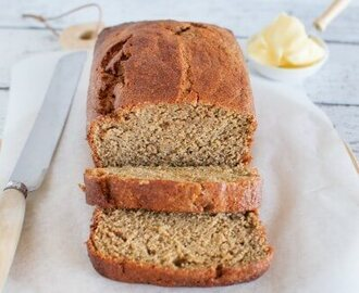 Kid friendly banana bread (sugar and dairy free)