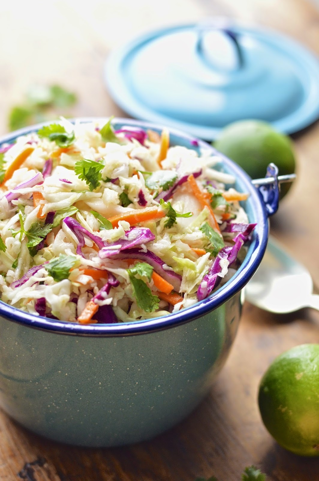 Dishing Out Recipes: Cilantro-Lime Cole Slaw