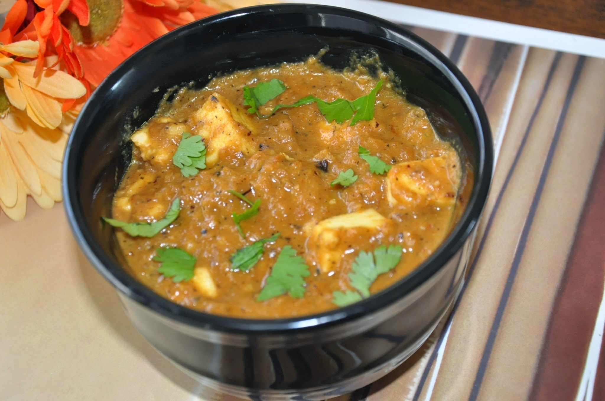 Paneer Butter Masala/ Side dish for chappathi