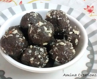 RAGI LADDOOS/ HOW TO MAKE RAGI/ FINGER MILLET LADDOOS