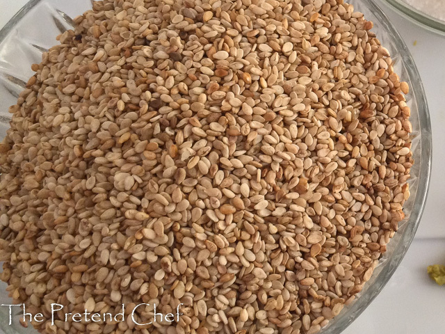 How to toast Sesame seed (Ridi, Benne seed)