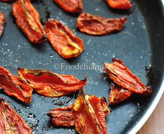Sun Dried Tomatoes/ Oven Dried Tomatoes In Olive Oil